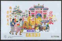 MACAU - Block 44 - Tempel A-Ma - 1997 - perfekt - **/MNH