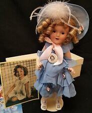 DANBURY SHIRLEY TEMPLE Porcelain Southern Belle Doll.