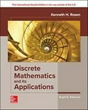Kenneth Rosen ISE Discrete Mathematics and Its Applications