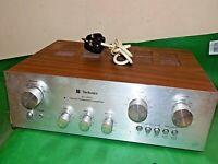 TECHNICS SU-7600 Vintage Stereo Integrated Amplifier Amp Phono Quality Woodgrain