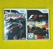 Nintendo Wii Need for Speed Carbon & Formula 1 2009