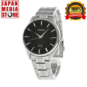 Seiko Selection SBPX103 Titanium Sapphire Solar Power Watch 100% GENUINE JAPAN