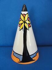 "Vintage Lorna Bailey Art Deco Conical Sugar Shaker ""Beach"""