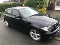 BMW 1 series 116i Sport - 2010, Black, 12 months MOT, 80k miles, available now!