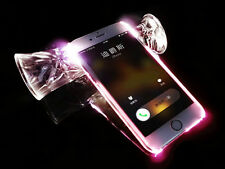 4 Color Incoming Call LED Lights UP TPU Case Cover Skin For iPhone 5/6/6Plus