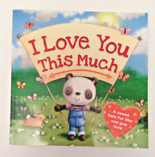 I LOVE YOU THIS MUCH Children Adult LITTLE PANDA Story Book SWEET PICS & MESSAGE
