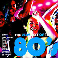 """The MUY Best Of The 80's"" CD 18 Original Tracks NUEVO Y EMB. orig. EMI 2009"