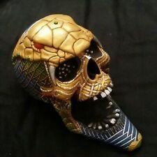 Pacific Giftware Egyptian resin full size skull