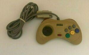 Sega Saturn Official Genuine Original Controller White - Yellowing - US SELLER