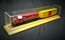 Military Model Railroad Train Engine & Box Freight HO Scale Locomotive Replica