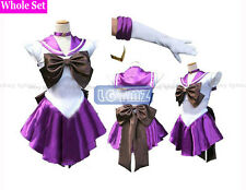 Sailor Moon Sailor Saturn Hotaru Tomoe Uniform Cosplay Clothing COS Costume