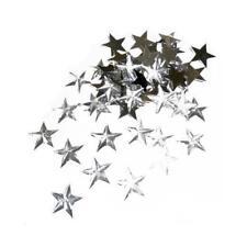 Buddly Crafts 14mm Stars Flatback Rhinestones - 50pcs Clear