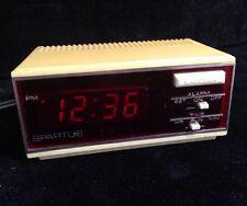 Vintage Spartus Corporation Horizon Model # 1170 Digital Alarm Clock