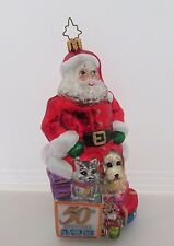 Radco Humane Society of he United States 50th Anniversary Christmas Ornament