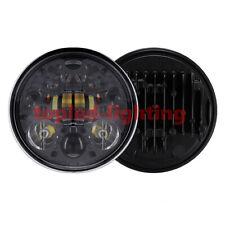 "Black 5.75"" Adaptive LED Headlight For Harley Touring 2007 Harley-Davidson"