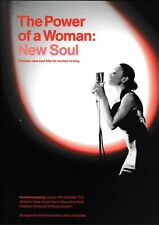 The Power of a Woman: New Soul, 13 Soul Hits. Piano, Vocal, chords.