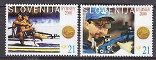 SLOVENIA 2000**MNH SC# 434-435 Gold Medalists - Sydney