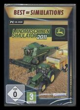 PC-CD-ROM LANDMASCHINEN SIMULATOR 2011 - JOHN DEERE *** NEU ***