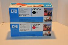 HP C9700A Black & C9703A Magenta Toner  New in the box! Genuine HP