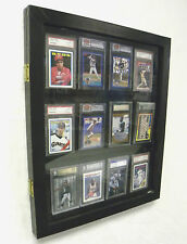 Sports Card Display Case for 12PSA  Graded Cards
