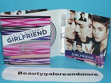 2 GIRLFRIEND by JUSTIN BIEBER BIEBER'S  WOMAN FRAGRANCE PERFUME SAMPLE EDP