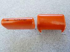 2 condensateurs 1uF 250V Philips MKT 368