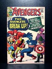 COMICS: Marvel: Avengers #10 (1964), 1st Immortus app - RARE
