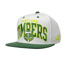 Adidas MLS Men's Portland Timbers Two Tone Flat Brim Snapback Hat