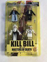 Minimates KILL BILL Vol. 1 & II  Masters Of Death Box Set Minifigs NEW NIP