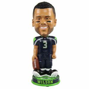 Russell Wilson Seattle Seahawks Knucklehead Big Head Bobblehead NFL