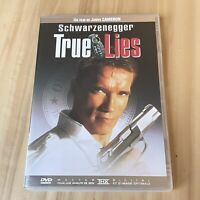 """DVD """"True Lies"""" / avec Arnold Schwarzenegger, de James Cameron / THX"""