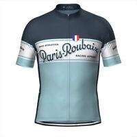PAVE Paris Roubaix Retro Cycling Jersey Short Sleeve