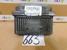 1997 CHEVROLET LUMINA #663 Engine Computer ECM ECU 16218070