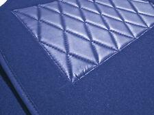 Kompl. Teppichsatz für Fiat X1/9 Velour Royalblau