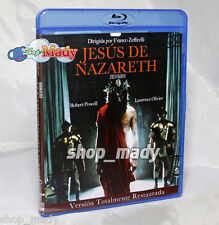 Jesus of Nazareth Version Restaurada - 2 Blu-Ray en ESPAÑOL LATINO REGION FREE