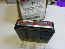 CUTLER HAMMER EATON - SERIES C THERMAL MAGNETIC TRIP 100-125amps JT3125TA 3 Pole
