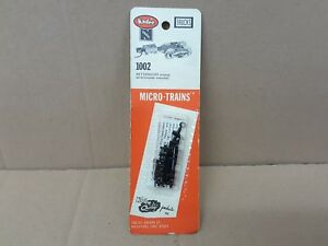 Kadee N Scale #1002 Bettendorf Extended w/Coupler Mounted