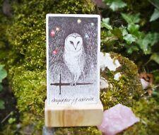 SILVER BIRCH WOOD TAROT CARD HOLDER ~Crafted in Devon~ Wicca/Witchcraft/Spell