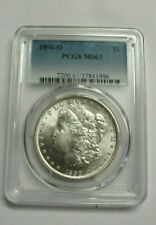 1890-O Morgan Silver Dollar PCGS MS63  - NO RESERVE *