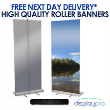 More details for roller banner display stand - pop / pull / roll up sign exhibition trade show