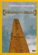 Enigmas De La Biblia Ll Caín Y Abel New Dvd Nacional Geográphic