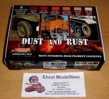 Dust and Rust Staub Rost   mit 6 Farben Lifecolor CS10 Neu