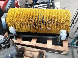 Anbaukehrmaschine für Stiga oder Husqvarna Rasentraktor