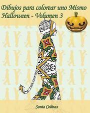 Dibujos para Colorear uno Mismo - Halloween: Dibujos para Colorear uno Mismo...
