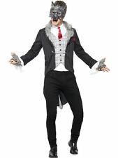 Big Bad Traje de Lobo, de lujo, XL, Halloween Vestido de fantasía, para hombre