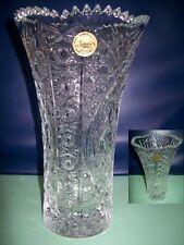 Tjoli Vase en cristal D'arc- Diamax- élégant -H: 22 cm Modèle:Chesney-Etat neuf