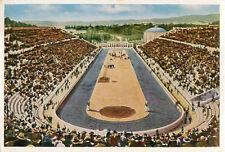 Panathinaiko Stadium GREECE 1906 Intercalated Games OLYMPIC CARD IMAGE 1936