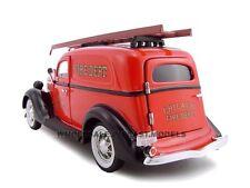 1935 FORD CHICAGO FIRE DEPARTMENT 1:24 DIECAST MODEL CAR UNIQUE REPLICAS 18517