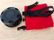 New Black Metal Plastic Portable Moxibustion Box Burning Moxa Stick Holder 艾灸盒