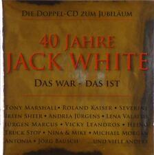 2x CD - Jack White - 40 Jahre Jack White - Das War - Das ist - #A3555